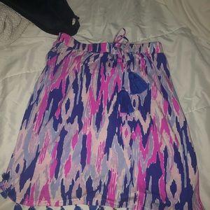 palma lilly tube top/ skirt